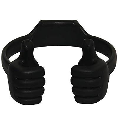 Honsky 3362525 Universal Flexible Thumb Smartphone Tablet Mount Holder - Black from Honsky