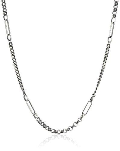 caï men Herren-Halskette 925 Sterlingsilber vintage-oxidized 48 cm