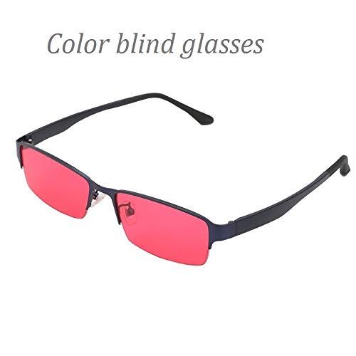 ZUEN Color Blind Korrekturbrillen Frauen Männer Farbe Schwäche Brille Color Blind Sonnenbrille Colorblind Fahrer Brillen