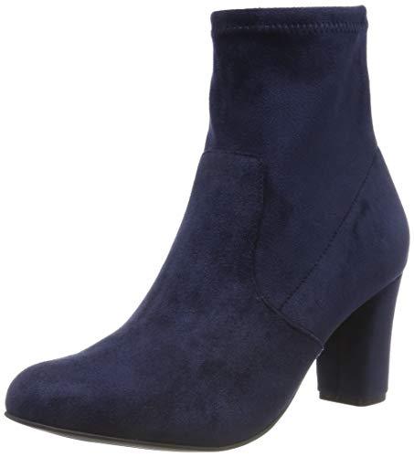 CAPRICE Damen Britt Stiefeletten, Blau (Ocean Stretch 870), 38.5 EU