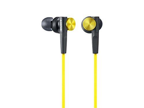 Sony In-Ear Dynamic Headphones MDR-XB50-Y (Yellow)