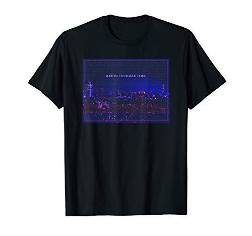 Vaporwave Cyberpunk Tokyo Japan Streetwear 90er Glitch Lofi T-Shirt