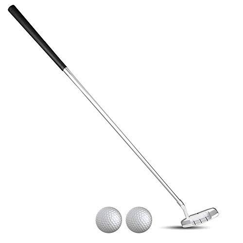 Golf Putter Anfänger, 3-teilig, Faltbare Zinklegierung, Golf Putter Mit 2 Bällen, für Kinder Von 3-5 Bis 6-8 Bis 9-12 Jahren