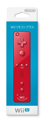 Nintendo - Ac wii mando remoto plus rojo ( funcion motion)