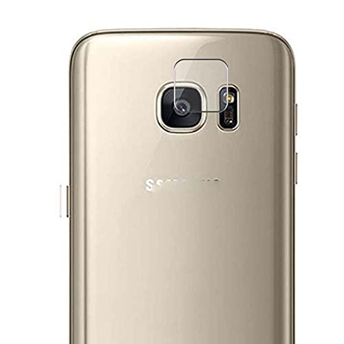 Vaxson 2 Unidades Protector de Lente de Cámara, compatible con Samsung Galaxy S7 G930A G9300 [No Vidrio Templado/Funda Case ] TPU Película Protectora
