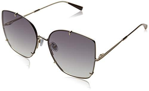 MaxMara MM HOOKS II Sunglasses, LGH GOLD, 60 Womens