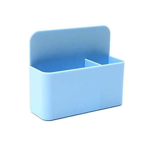 ppqq Adecuado para pizarra blanca magnética titular de la caja de almacenamiento de la caja de almacenamiento de la oficina (color azul)