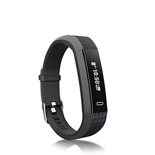 LYB Bluetooth M3 SmartWatch K09 Android iOS SmartBand Health a Prueba De Agua Smart Watch M3 Pro Band 5 Smart Band (Color : Black)