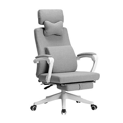 ZXN RTU Relax - Sillas de escritorio para casa, oficina, videojuegos, silla de oficina, escritorio, respaldo alto, ergonómica, ajustable, giratoria, para computadora