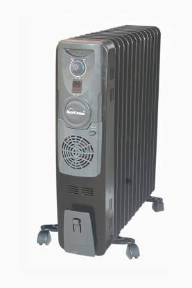 Sunflame SF-955 TF PTC 13 Fin With Fan Oil Filled Room Heater (BLACK & GREY)