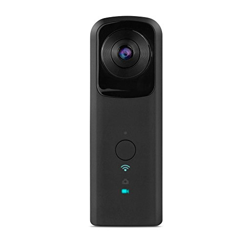 YUNTAB(JP) 全天球 360度カメラ パノラマカメラ VR・WI-FI対応モデル 360°Panoramic Camera 1080P Full ...