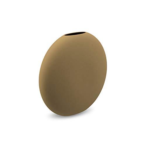 Cooee Design Pastille vaas, keramiek, Oker, L: 15, B: 4, H: 14 CM