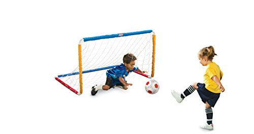 MGA Little Tikes Easy Score Soccer Set w/net + ball + pump