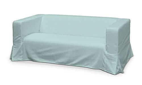 Dekoria Klippan 2-Seater Floor Length Sofa Cover with Box Pleats Index 1013-702-10 IKEA klippan Sofa Cover, IKEA klippan Sofa Cover, klippan Sofa Cover, klippan 2 Seater Cover