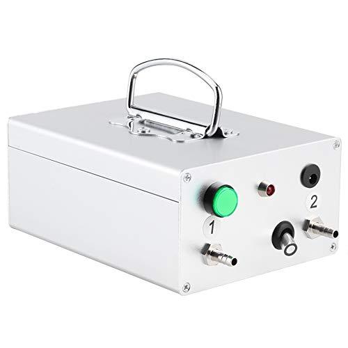 Máquina de ordeño de Leche de Cabra, Bomba de vacío de Pulso de succión Alta Máquina de ordeño Batería Recargable automática Equipo portátil de ordeño de Ganado(EU)
