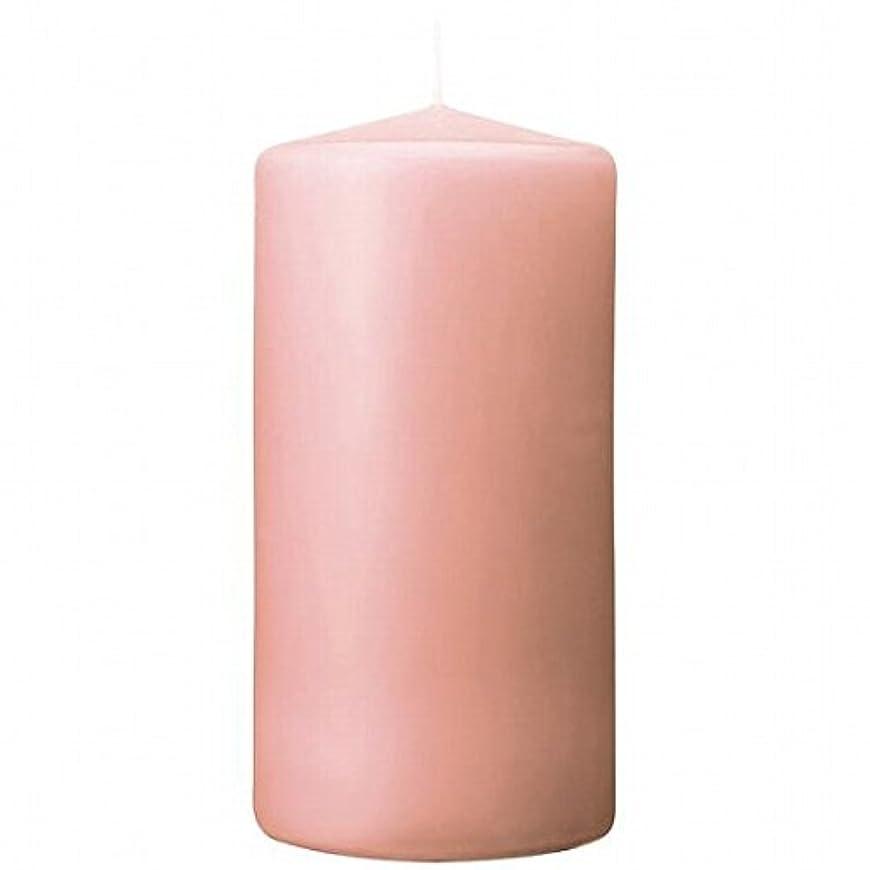 キルト信頼支援kameyama candle(カメヤマキャンドル) 3×6ベルトップピラーキャンドル 「 ピーチアンバ 」(A9730010PA)