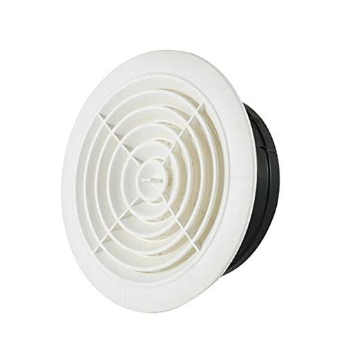 SZBLYY Rejilla ventilacion Secadora Redonda Secadora de Aire ABS Louver Louver Cubierta DE Aumento DE Aumento Ajustable para EL BAÑO VENTILACIÓN DE Oficina (Color : 3 Inch)