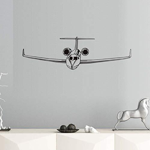 Mrlwy Wandaufkleber Diy Airliner Stick Kunst Für Kinderzimmer Wohnkultur Wandtattoos Tapete Baby Wanddekoration 59X18 Cm