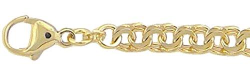 Gold Armband 8 k 333 Gelbgold Garibaldi Kette 21 cm