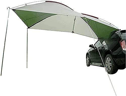 XJYXH Toldo multifuncional de automóvil, carpa de autos al aire libre, BRICOLAJE CAMBIÉR CAMBIÉN COMPRANTE TIENDA TIENDA TERRIA Cobertiza, adecuada para actividades al aire libre, como camping, montañ