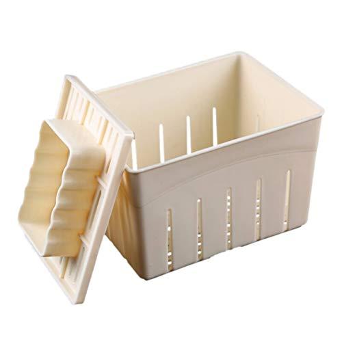 Molde De Plástico Queso De Soja Casera DIY Tofu Queso Casero Molde-Tofu Fabricación De Moldes De Plástico-Tofu Prensado En Molde De Cocina Utensilios De Cocina
