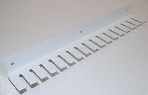 Kabelrechen 350mm lang in weiß