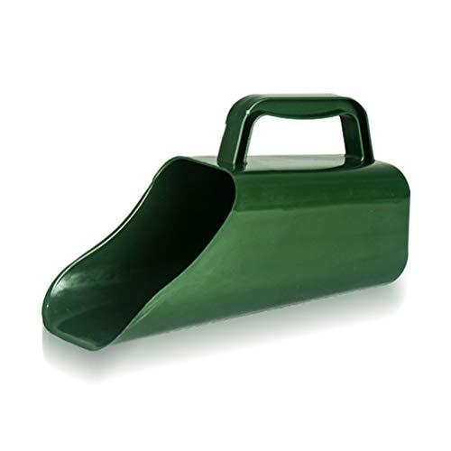 Ahagut Cuchara de alimentación de plástico Cuchara de plantación Multifuncional con Herramienta de jardín de Cubo