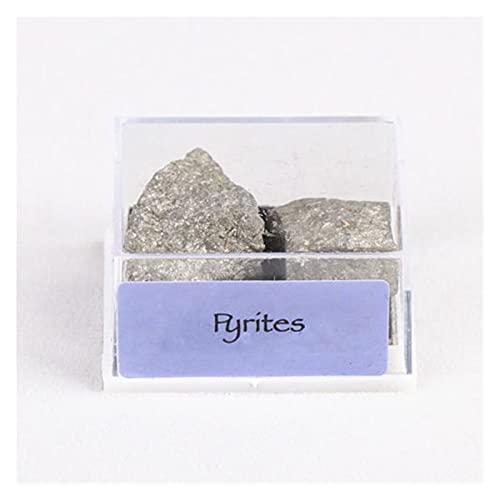 YSJJDRT Cristal Natural Rugoso 1box Mixto Mixto Piedras ásperas crudas Crystal Minal Rock Colección de Cuentas para joyería al por Mayor Muchos (Artikeldurchmesser : 11mm, Farbe : F)