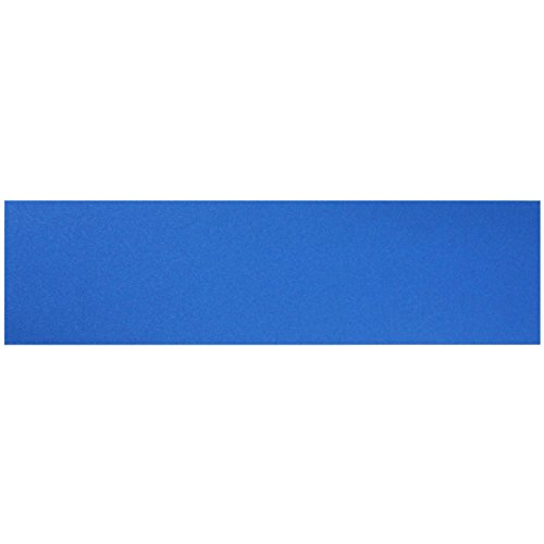 "Black Diamond Skateboard Griptape Solid Color Blue 9"""