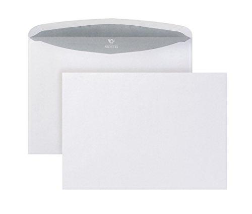 Post Horn Velox 01540148Busta per lettere, nasskl ebend, Trapezio taglio, C5, 162X 229mm, 80G ISK, 500pezzi, bianco