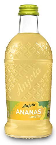 Anjola - das Original - 12 x 0,33l Glasflasche / Ananasflasche inkl. Pfand