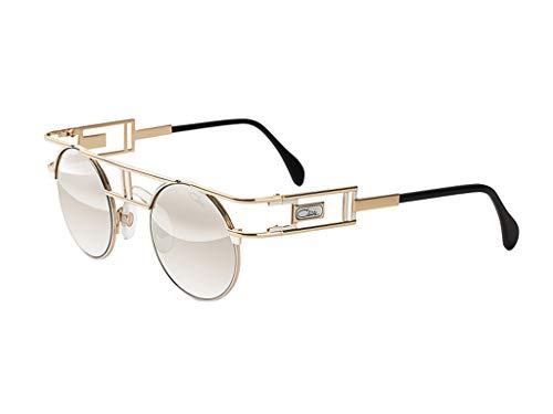 Cazal sonnenbrille 958 096 gold-grau-größe 46-mm-unisex