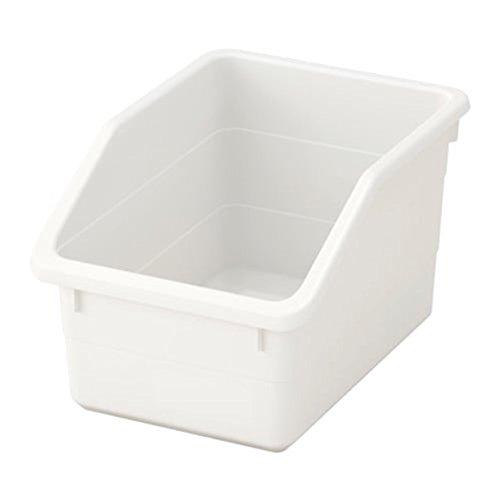 IKEA 503.161.82 - Caja de almacenaje (tamaño 7, ½ x 10, 0,6 x 6 cm), color blanco