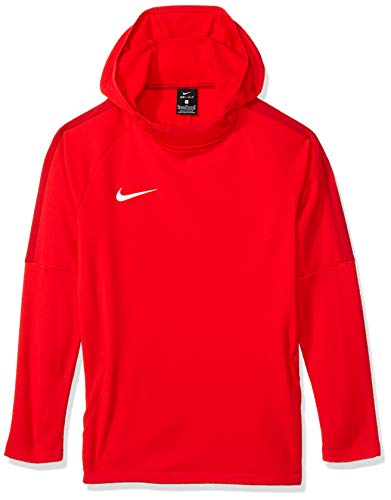 NIKE Dry Academy 18 Football H Sudadera, Ni?Os, Rojo (University Red/Gym Red/Gym Red/(White), S