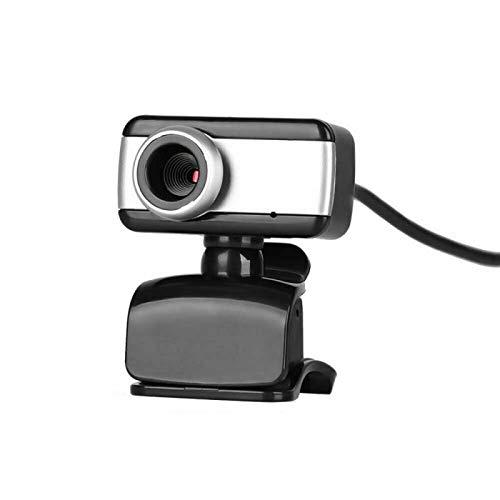 Cámara web de 1080p, cámara web Dual Micrófono Dual de transmisión, 360 ° Rotación arbitraria Clase en línea en vivo HD de gran angular Tanto Escritorio como computadora portátil se pueden utilizar