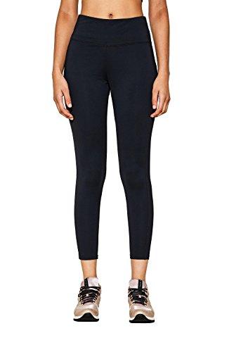 ESPRIT Sports Damen Active/Training Tight edrysl7/8 Sporthose, Schwarz (Black 001), S