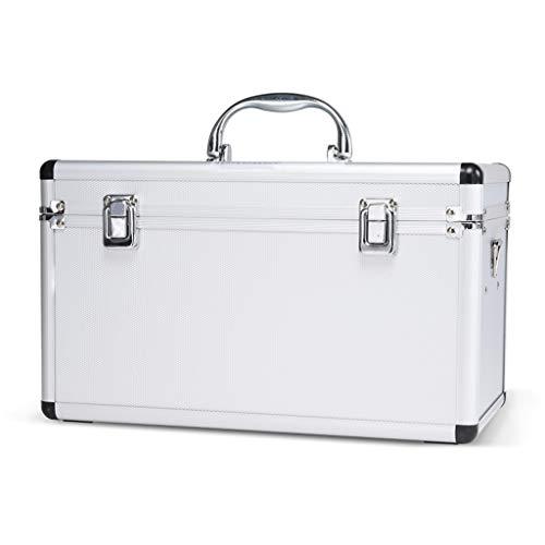 LICCC Kit di Pronto soccorso Erste-Hilfe-Ausrüstung Aluminiumlegierung Medical Box, Haushalt 13 Zoll Medical Container, Emergency Kit Kabinett
