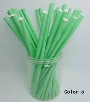 Biologisch afbreekbare enveloppen - 50 stuks 2-pack monochroom eenkleurig papier rietjes biologisch afbreekbaar partij - biologisch afbreekbare enveloppen tandenborstel plaat wegwerp partij tafelkleed roze verjaardag P Kleur 5