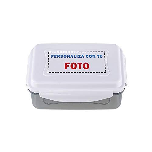 Fiambrera Nevera DELUXE PERSONALIZABLE · Recipiente Hermético con 1'5 Litros con Acumulador de Frío · Apto para Microondas, Lavavajillas y Congelador