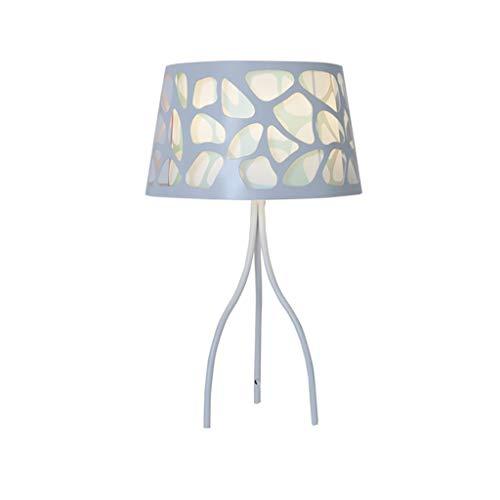 Lampe de table F Lampe de table Chambre créative Lampe de chevet romantique Lampe de table décorative étoilée (Couleur : Blanc)
