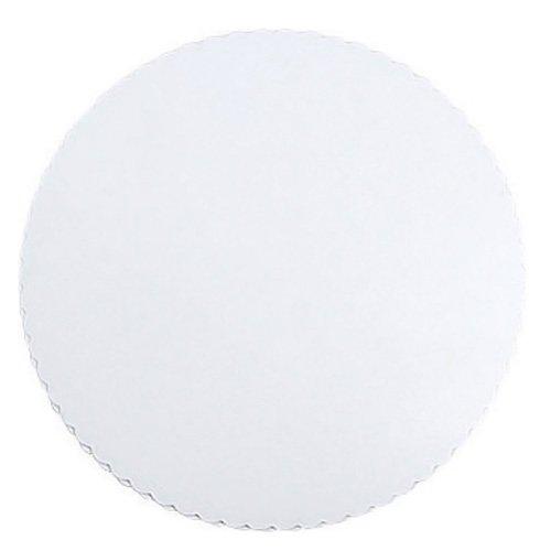 Zeller 44764 Support de Tarte 28cm 6 pièces en Papier, Blanc, 28 x 28 x 0,3 cm