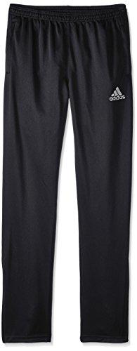 adidas Youth Soccer Core Pants, Black/White, X-Large