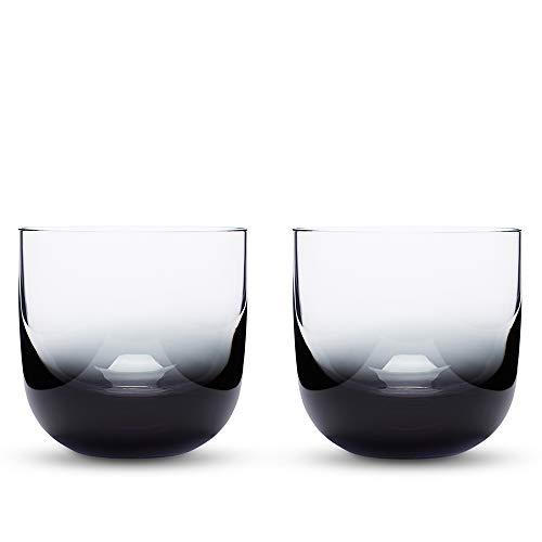 Tom Dixon Men's Tank Whiskey Glasses, Black, One Size