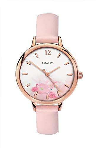 Sekonda Watches Orologio Analogico Quarzo Donna con Cinturino in PU 2625.27