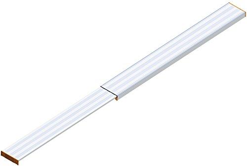 Layher 1351440 Alu-Telesteg ausziehbar auf max. Länge 4.40 m, belastbar bis 150 kg