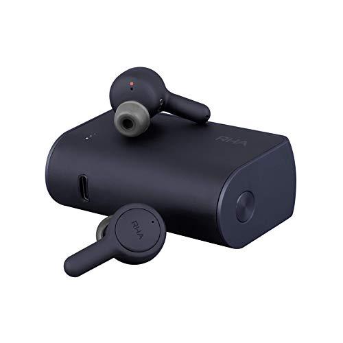 RHA 602035 Trueconnect - Navy Blue: True Wireless Earbuds with Bluetooth 5 & Sweatproof for Sport Activity