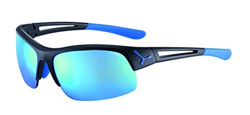 Cébé Stride Gafas, Mujer, Negro/Azul (Mate), M