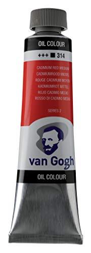 Royal Talens : Van Gogh Oil Paint : 40ml : Cadmium.Red Meiumd. S2