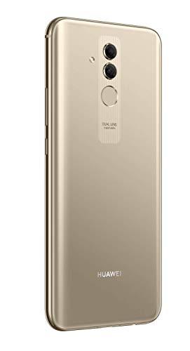 Huawei Mate20 lite Dual Nano-SIM Smartphone BUNDLE (16 cm (6.3 Zoll), 64GB interner Speicher, 4GB RAM, 20MP + 2MP Kamera, Android 8.1, EMUI 8.2) Platinum Gold [Exklusiv bei Amazon] - Deutsche Version - 5
