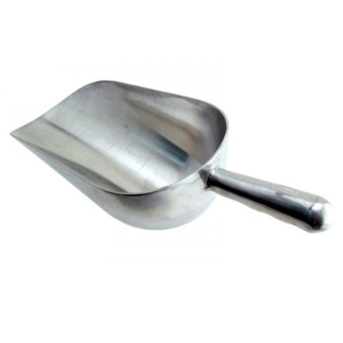 Winco AS-12 Aluminum Utility Scoop, 12-Ounce, Set of 3